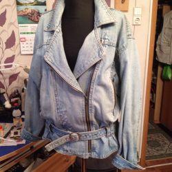СРОЧНО! Куртка джинсовая косуха женская