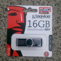 Κάρτα flash Kingston USB Kingston 16 Gb