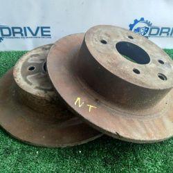 Brake Disc Nissan Tiida C11 HR16DE 2013
