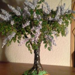 Lilac bead