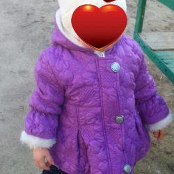 Куртка демисезонная на девочку до 1, 5 лет