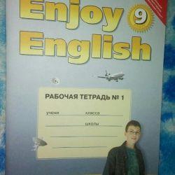 9. sınıf için İngilizce çalışma kitabı.