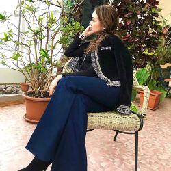 Jacket în stil Chanel
