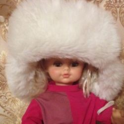 Capul Nyusha. Pălărie de iarnă
