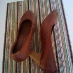 Bayan ayakkabı 38, hakiki deri