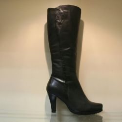 72. Winter boots p.35,36,37 leather, nat.meh
