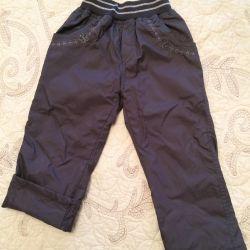 Windbreaker pants.