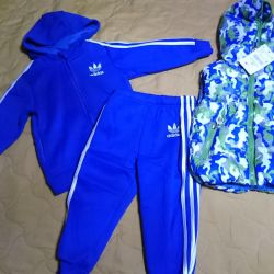 Sports suit for the boy new