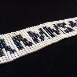 Beaded Rammstein Bracelet