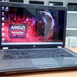 HP g6 Ισχυρός φορητός υπολογιστής AMD με κάρτα βίντεο 2Gb