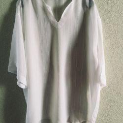 Men's shirt made of fine chiffon