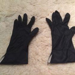 Женские перчатки текстиль