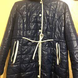 Kadın demi-sezon Düğme ceket