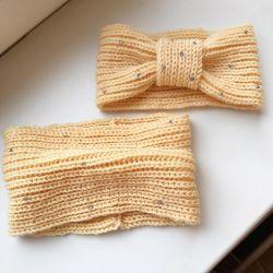 Knitted kit for girls