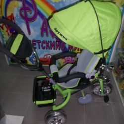 Bicycle with swivel seat new