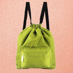 Пляжная сумка-рюкзак с отделением для мокрых вещей