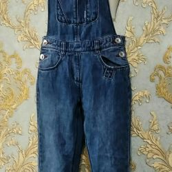 Jeans Overalls 7-9 years