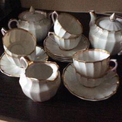 Servicii de porțelan pentru ceai (antic)