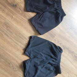 Новые черные шортики
