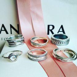 Pandora 56 mm rings (17.5 size)
