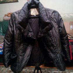 Продам пуховую курточку р.46