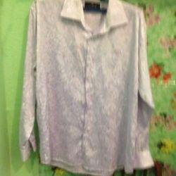 Рубашка сиреневая фирма Licona р. 42-44