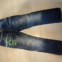 Jeans p.116 pe fleece