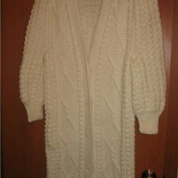 New knitted coat