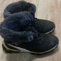 зимнии ботинки р38