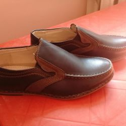New moccasins 32.34 sizes.