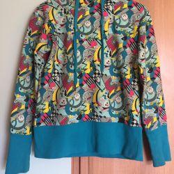 Başlıklı Sweatshirt
