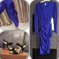 New elegant dress Italian sandals
