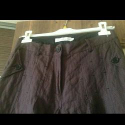 Cotton trousers / new