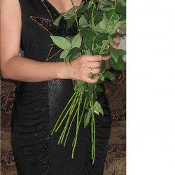 Βραδινό μαύρο φόρεμα p. 44-46 (Μ) Ιταλία)