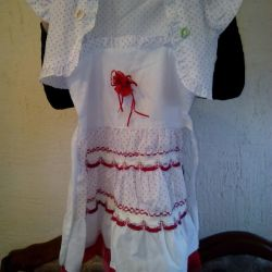 4-5 yaş arası bolero ile elbise