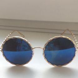 Модные очки с чехлом