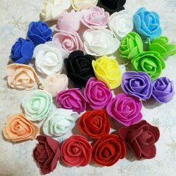 Foamirana trandafiri cu diametrul de 4 cm