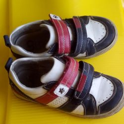 Sneakers for a boy (leatherette)