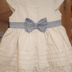 Нарядное платье 9-12мес YD