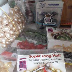 Тайские капсулы для волос