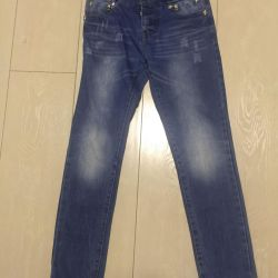 Jeans with skeletons p 150
