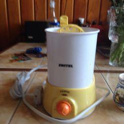 Συσκευή για τη θέρμανση των παιδικών τροφών νέα
