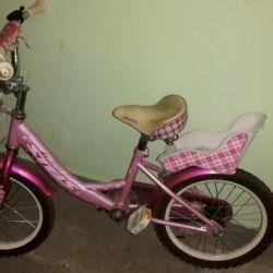 Детский велосипед Stels для девочки