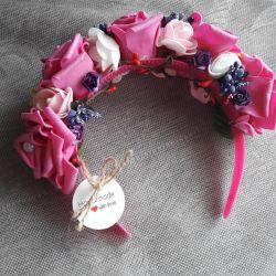 wreath bezel handmade
