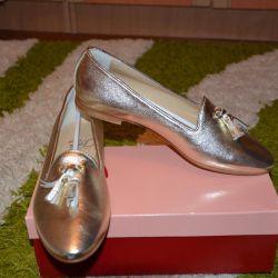 Новые брендовые балетки лоферы Италия