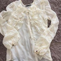 Ελαφριά μπλούζα σιφόν