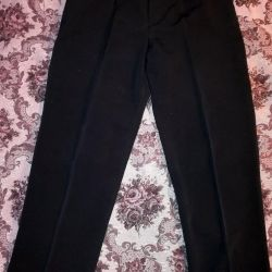 Erkek pantolonları siyah XL