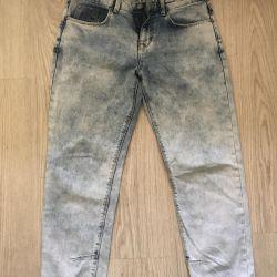 джинсы бойфренд варенки bershka