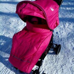 Bebek arabası yürüyüş