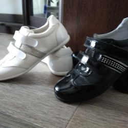 Sneakers. Genuine Leather